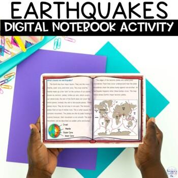 Earthquake Nonfiction Digital Google Classroom Activity