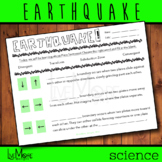 Earthquake - Plate Tectonics Worksheet
