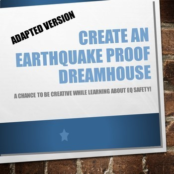 Earthquake Proof Dream House (Adapted Version)