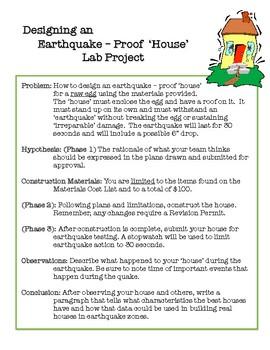 Earthquake Proof House - Project