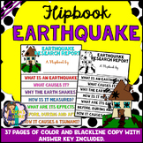 Earthquake Research Flipbook (Earth Science, Geography, Re