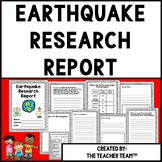 Earthquakes | Earthquake Research Report