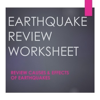 Earthquake Review