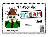 Earthquake STEAM Unit - 2nd-3rd Grade