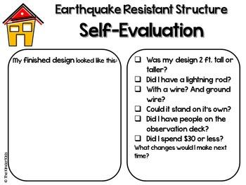 Earthquake STEM
