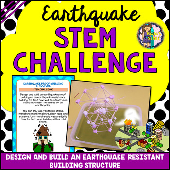 Earthquake STEM Activity (Earthquake Resistant Building Structure Challenge)