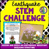 Earthquake STEM Activity (Earthquake Resistant Building St