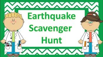 Earthquake Scavenger Hunt