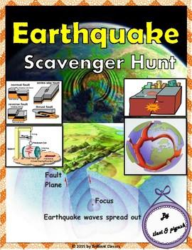Earthquake Scavenger Hunt