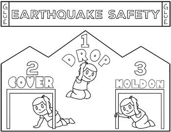 Earthquake Shake Out Safety Hats