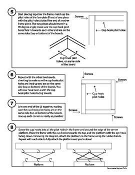 Earthquake Table Instructions and Templates