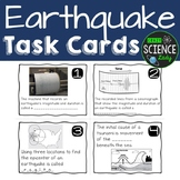 Earthquake Task Cards