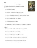 Earthquake Terror Novel Questions by Chapter - PDF Cannot