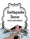 Earthquake Terror by Peg Kehret - Novel Unit Bundle
