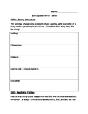 Earthquake Terror Skills Packet