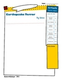 Earthquake Terror by Peg Kehret Activities Handout iPad