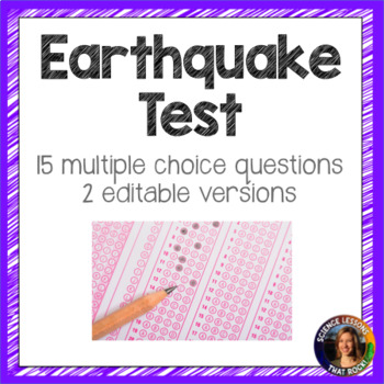 Earthquake Test- 2 versions