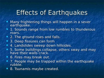 Earthquake: The Richter Scale