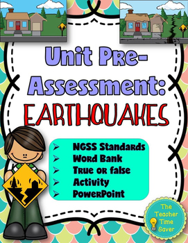 Earthquake Pre-Assessment or Warm-up