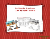 Earthquake & Volcano Coloring Pages