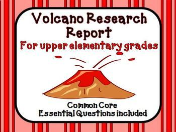 Earthquake, Volcano, and Planet and Solar System Research Report Bundle