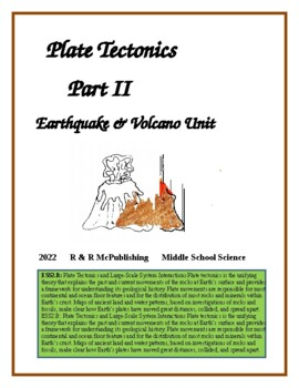Earthquake/Volcano Unit