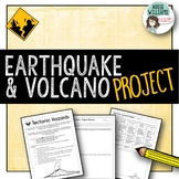 Earthquake / Volcano Project - Tectonic Hazards