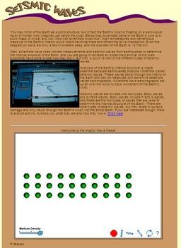 Earthquakes Webquest