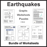 Earthquake Worksheet Packet