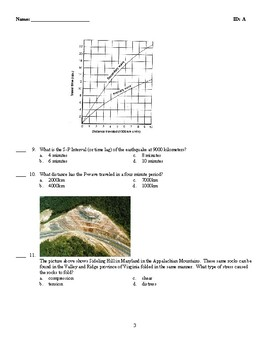 Earthquake and Volcano Test