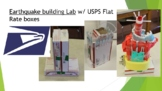 Earthquake building Lab Distance Learning