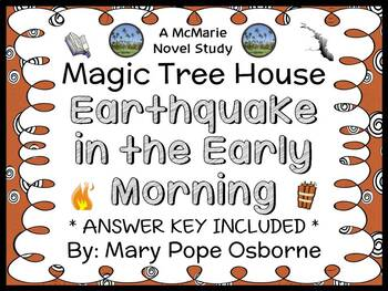 Earthquake in the Early Morning: Magic Tree House #24 (Osb