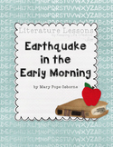 Earthquake in the Early Morning Novel Study