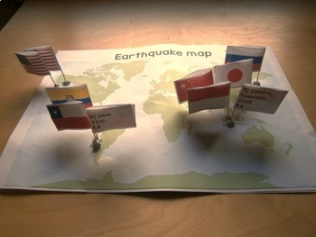 Earthquake map