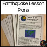 Earthquake Lesson plans