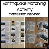 Earthquake Vocabulary cards