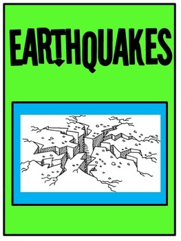 Earthquakes: STEM activity Included