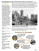 Earthquakes! A Plateful of Destruction: a leveled geography reading passage