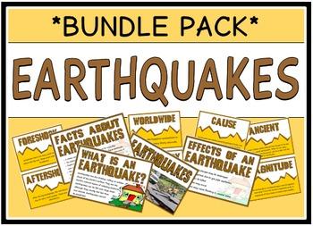 Earthquakes (BUNDLE PACK)