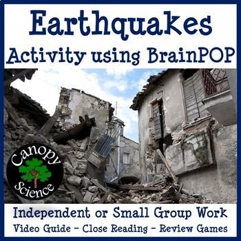 Earthquakes Brain Pop
