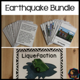Earthquake Bundle Lesson plans, activities, worksheets