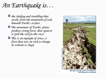 Earthquakes- Causes and Effects