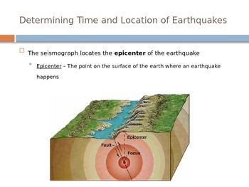 Earthquakes - Detecting Earthquakes
