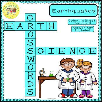 Earthquakes Crossword Puzzle