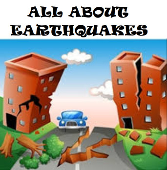 Earthquakes- FULL LESSON PLAN! PPT, Worksheet, Activity, Lab, Quiz