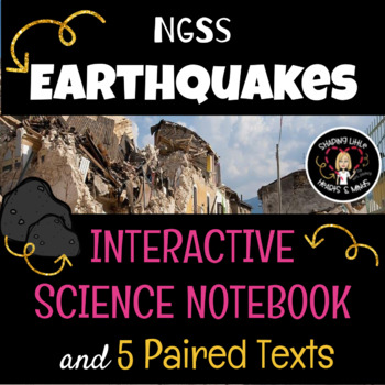 Earthquakes- Interactive Science Notebook & Journal