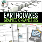 Earthquakes / Faulting Graphic Organizer | Print & Digital Distance Learning
