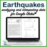Earthquakes Lesson:  Analyzing and Interpreting Data for U