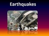 Earthquakes Notes Bundle
