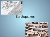 Earthquakes: Physical Science